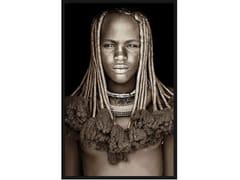 Quadro in poliestereHIMBA GIRL NAMIBIA - MONDIART INTERNATIONAL