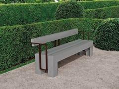 Panchina con braccioli con schienaleHIRU - ULMA ARCHITECTURAL SOLUTIONS