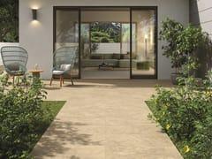 Pavimento/rivestimento in gres porcellanato effetto pietra per interni ed esterniHISTORICA THERMAE - CERAMICHE MARCA CORONA