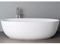 Vasca da bagno ovale in Korakril™HOLE XL - REXA DESIGN
