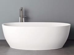 Vasca da bagno ovale in Korakril™HOLE XS - REXA DESIGN