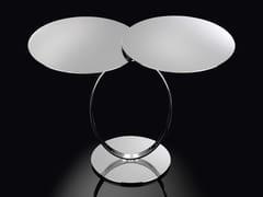 Tavolino di servizio girevole rotondo in acciaio HOLLY | Tavolino di servizio -