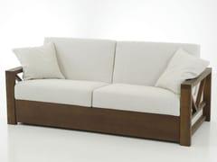 Divano letto sfoderabile in tessutoHOLLYWOOD BED NOCE - TREMOLADA
