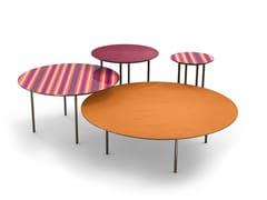 Tavolino rotondo in metalloHOLMES T-32-52-72-102   Tavolino rotondo - MOMENTI
