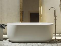 Vasca da bagno centro stanza ovale in Luxolid®HORIZON TUB - RELAX DESIGN