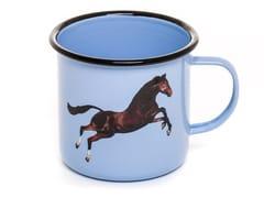 Mug in metallo smaltatoHORSE | Mug - SELETTI