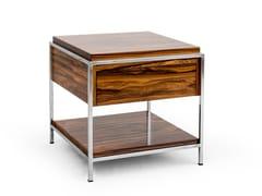 Tavolino quadrato in legno con vano contenitoreHOUSTON - PORTOVILLAZ SOCIEDADE UNIPESSOAL
