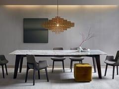 Tavolo rettangolare in marmo HOWARD | Tavolo in marmo -