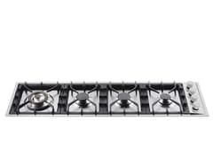 Piano cottura a gas in acciaio inoxHP1230D | Piano cottura - ILVE