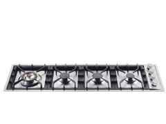 Piano cottura a gas in acciaio inoxHPT1230D | Piano cottura - ILVE
