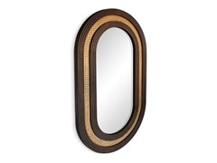 Specchio con cornice da pareteHUDSON - WOOD TAILORS CLUB