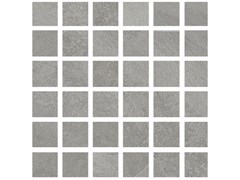 Mosaico in gres porcellanatoHURRICANE | Mosaico Silver - ARMONIE CERAMICHE