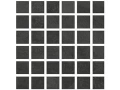 Mosaico in gres porcellanatoHURRICANE | Mosaico Smoke - ARMONIE CERAMICHE