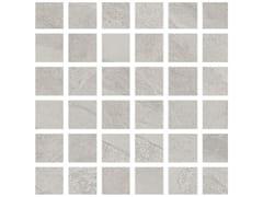 Mosaico in gres porcellanatoHURRICANE | Mosaico White - ARMONIE CERAMICHE