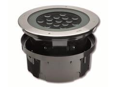 Segnapasso a LED a pavimento in acciaio inox per esterniHYDROFLOOR MAXI COMPACT - PUK ITALIA GROUP