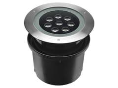Segnapasso a LED a pavimento in alluminio pressofuso per esterniHYDROFLOOR MAXI | Segnapasso in alluminio - PUK ITALIA GROUP