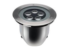 Segnapasso a LED a pavimento in acciaio inox per esterniHYDROFLOOR MEDIUM STEEL - PUK ITALIA GROUP
