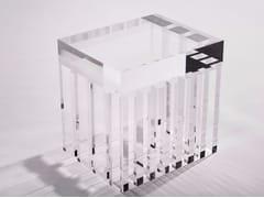 Tavolino rettangolare in PMMA I STELE ROOM -