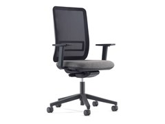 Sedia ufficio ad altezza regolabile con ruoteI-TASK - CIDER