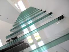 Scala a sbalzo in vetroiFRAME Glass stairs - SIMER PLUS D.O.O.