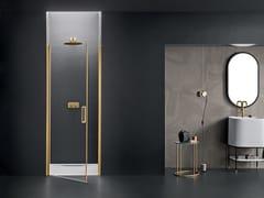Box doccia a nicchia in vetro con porta a battenteICARO | Box doccia a nicchia - ARBLU