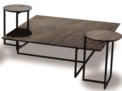 Tavolino quadrato in marmo ICARO | Tavolino quadrato - Icaro