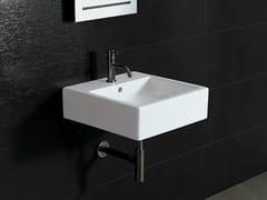 Lavabo quadrato in ceramica ICE 46X46 - Ice