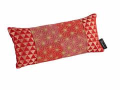 Cuscino a motivi rettangolare sfoderabile in tessuto ICHIMATSU | Cuscino rettangolare -