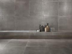 Pavimento/rivestimento in gres porcellanato effetto pietraICÔNE BLEU Gris - ITALGRANITI