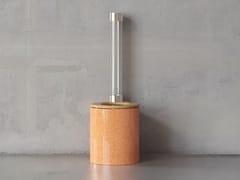 Wc in ceramicaICONE01 ORIGINALS FLAKED ARGILLA - TRONE