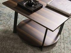 Tavolino quadrato in legno ICS | Tavolino in legno -
