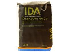 Malta aggrappante a base di calce idraulica naturale NHL 3IDA RINZAFFO NHL 3.5 - IDA