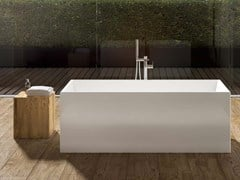 Vasca da bagno centro stanza rettangolare in acrilicoIDEA F RECTANGULAR - ALBATROS