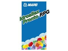 Rasatura cementizia osmotica fibrorinforzataIDROSILEX PRONTO RPG - MAPEI