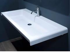 Lavabo rettangolare in Ceramilux®IGOR126 - ANTONIO LUPI DESIGN®
