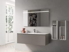 Mobile lavabo sospeso con cassettiIKON 06 - BMT