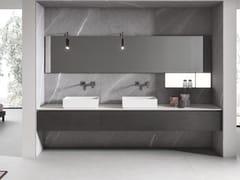 Mobile lavabo doppio sospeso con cassettiIKON 11 - BMT