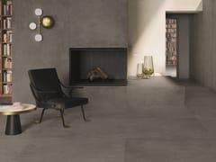 Pavimento/rivestimento in gres porcellanato effetto cementoIKON GREY - CERAMICHE KEOPE