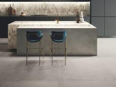 CERAMICHE KEOPE, IKON SILVER Pavimento/rivestimento in gres porcellanato effetto cemento