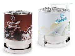 Vetrina refrigerata da bancone per gelatiIL GELATAIO - ISA