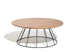 Tavolino da giardino in alluminio e legnoILLA | Tavolino - BIVAQ