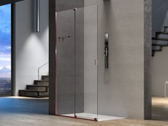 Box doccia rettangolare in vetro con porta scorrevoleILLUSION SEPARÈ - MEGIUS