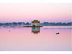 Stampa fotografica NICHTARGUER ISLAND IN THE EARLY MORNING - ARTPHOTOLIMITED