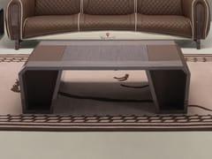 Tavolino basso con vano contenitore da salotto IMOLA VENEER | Tavolino - Imola