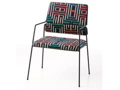 Sedia in poliestere con braccioliIMPALA© BY CORALIE PRÈVERT | Sedia con braccioli - AIRBORNE
