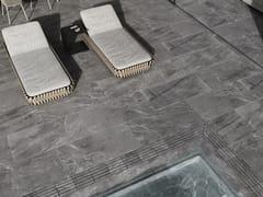 Pavimento/rivestimento in gres porcellanato effetto marmoIMPERIAL CENIZA - EXAGRES