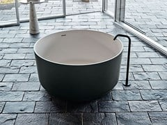 Vasca da bagno centro stanza rotonda in Exmar IN-OUT | Vasca da bagno in Exmar - In-Out