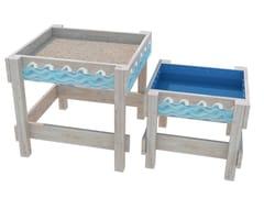 Vasca di sabbia in legnoIN OUT - ZURI DESIGN