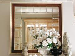 Specchio quadrato in legno con cornice da pareteINCONTRI | Specchio con cornice - MARTINI MOBILI