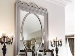 Specchio rettangolare in legno con cornice da pareteINCONTRI | Specchio - MARTINI MOBILI